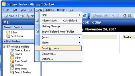 Outlook Configuration   DCC IT